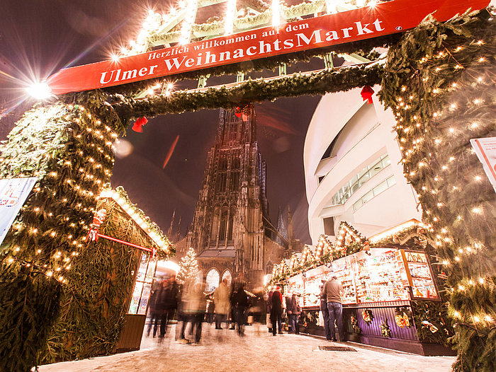 Christmas market in Ulm