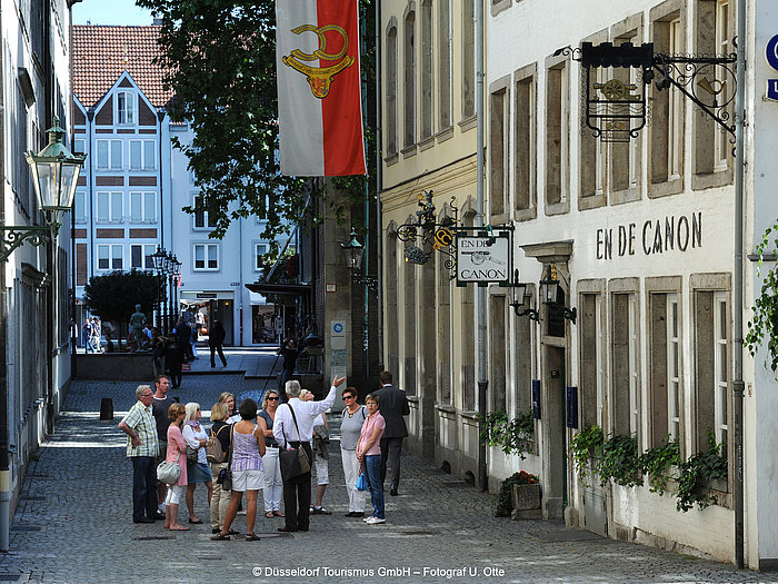 Guided tour of Dusseldorf Old Town