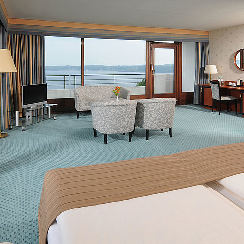 Suite Junior | Maritim Hotel Bellevue Kiel