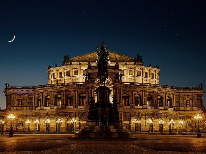 Semperoper à Dresde