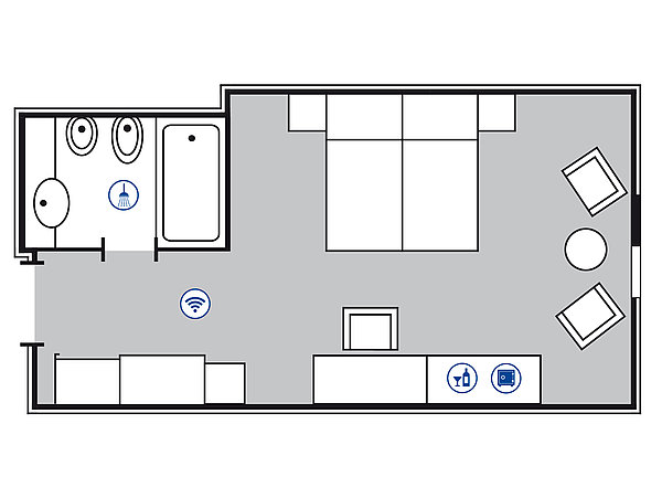 Room floor plan | Maritim
