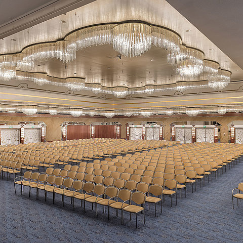 Saal Maritim theatre style | Maritim Airport Hotel Hannover