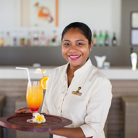Bellevue 1838 Beach Bar | Maritim Crystals Beach Hotel Mauritius