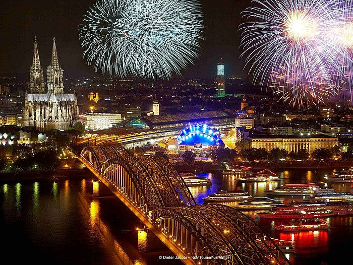 Festival of lights in Cologne