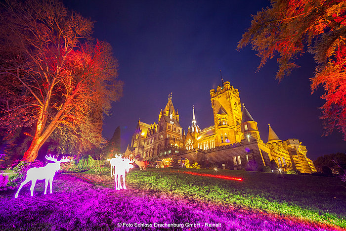 Christmas time at Castle Drachenburg